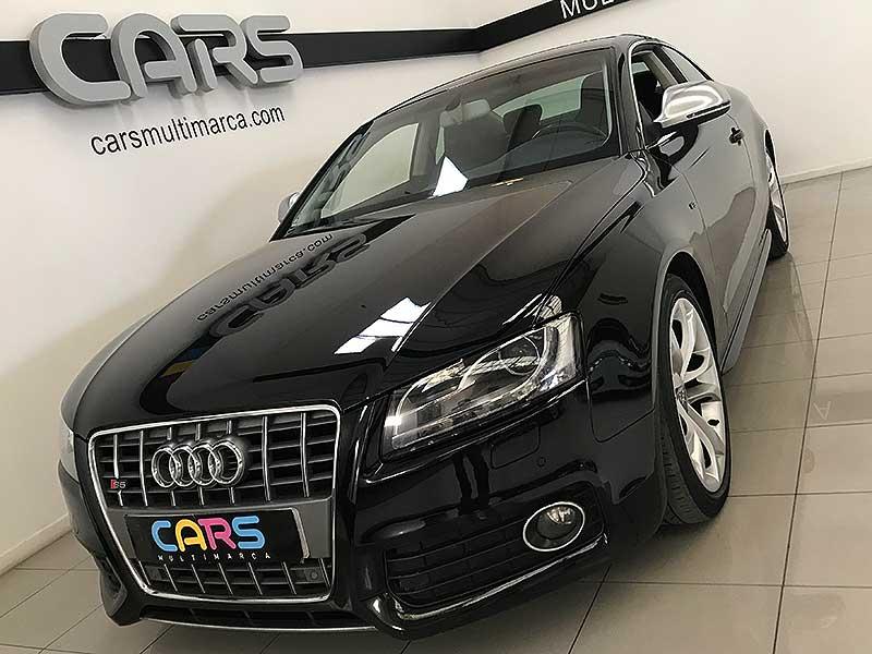 carsmultimarca.com, Audi s5 Quattro 4.2fsi, vista frontal.