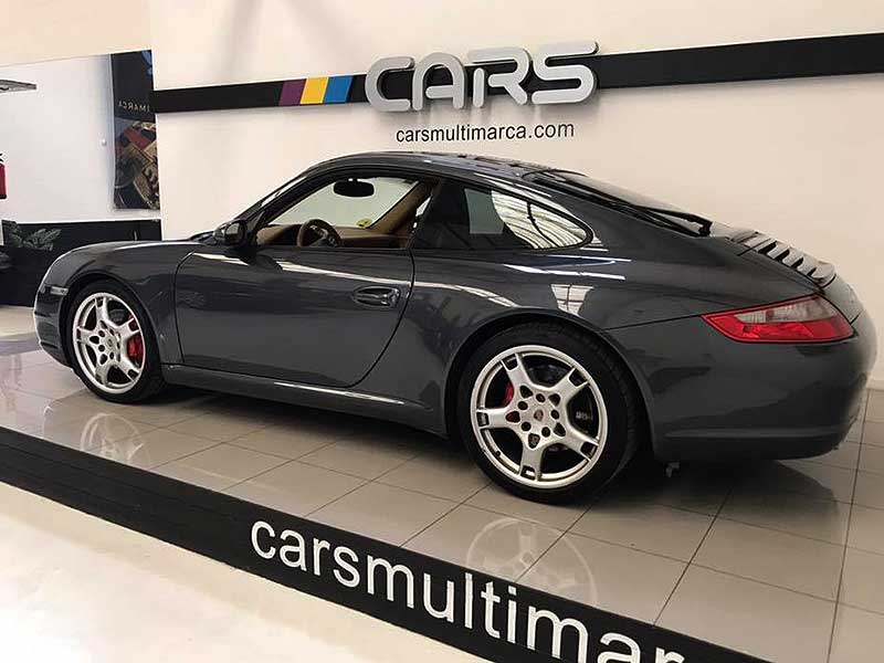 PORSCHE 911 Carrera S, carsmultimarca.com, vista lateral.