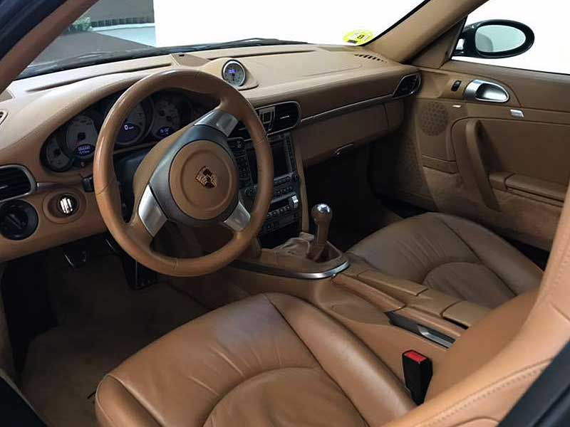 PORSCHE 911 Carrera S, carsmultimarca.com, vista interior.