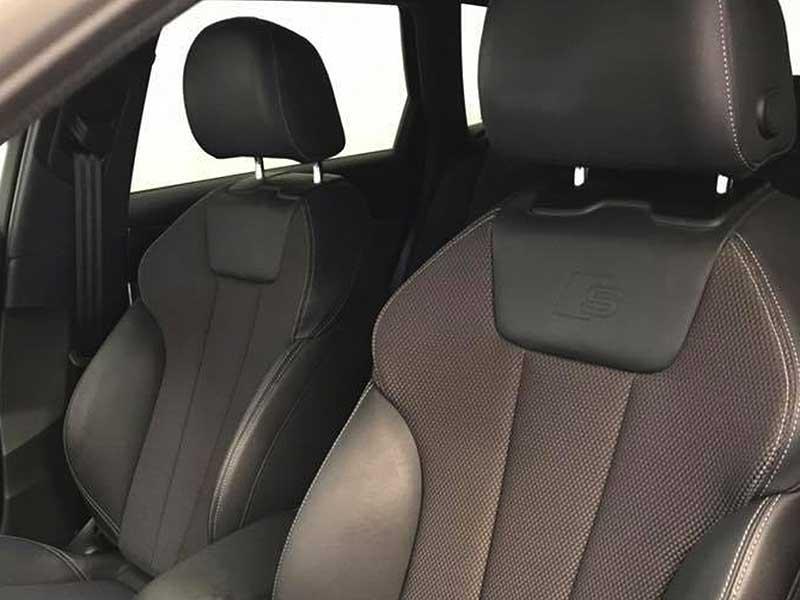 AUDI A4 S Line, carsmultimarca.com, vista de asientos.