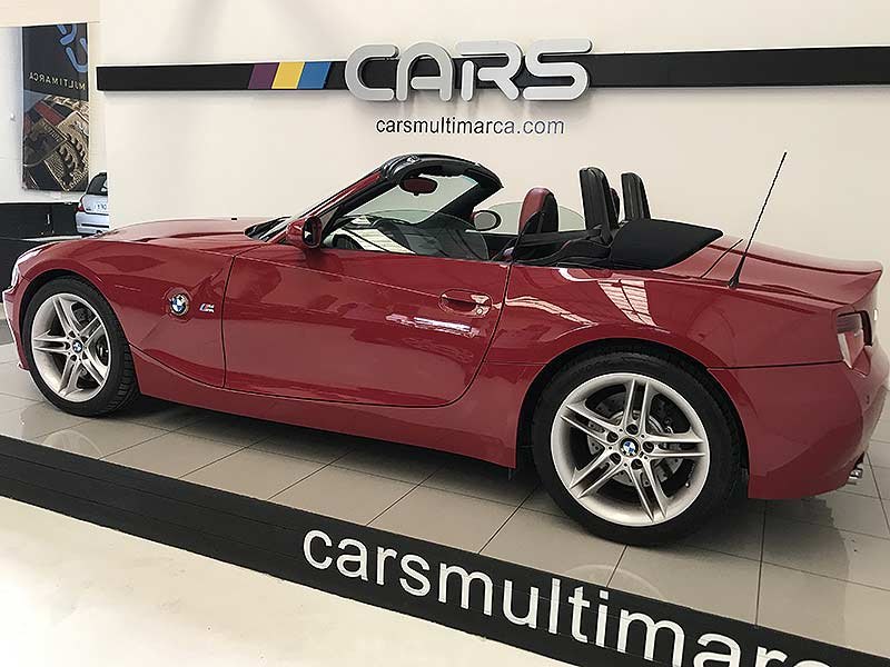 BMW Z4 M Roadster, carsmultimarca.com, vista lateral.
