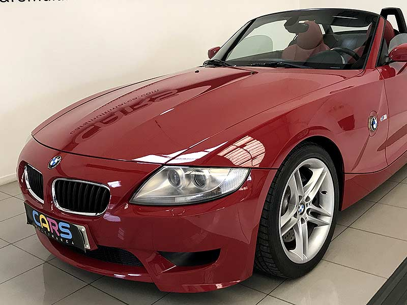 BMW Z4 M Roadster, carsmultimarca.com, vista frontal.