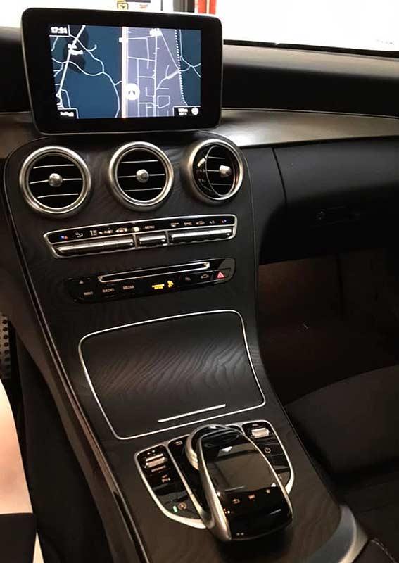 MERCEDES BENZ C220cdi Coupe AMG, carsmultimarca.com, vista de navegador.
