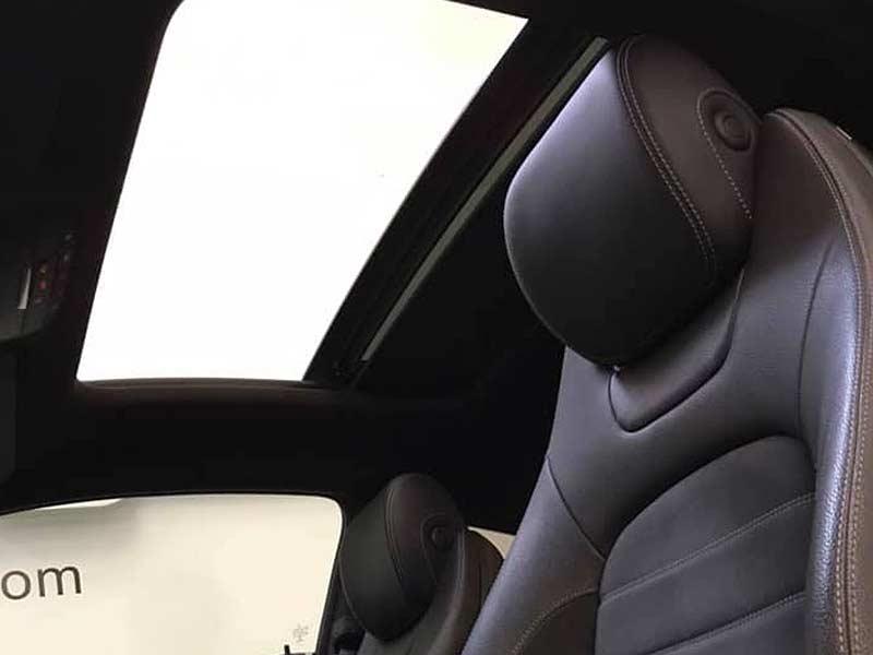 MERCEDES BENZ C220cdi Coupe AMG, carsmultimarca.com, vista techo solar.