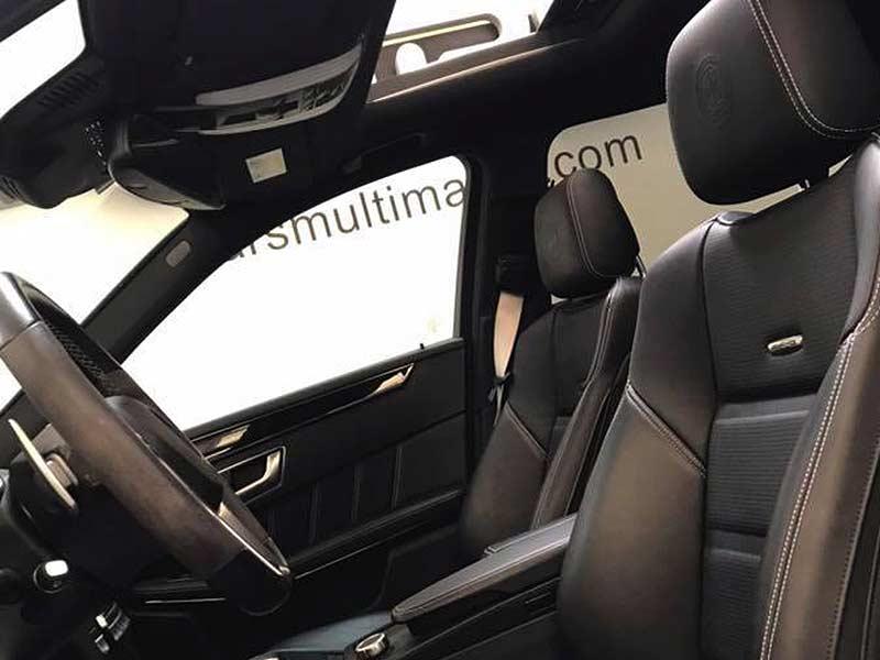 MERCEDES BENZ E63 AMG, carsmultimarca.com, vista asientos