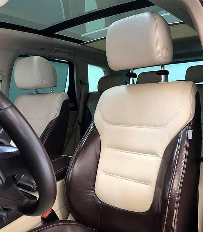 VOLKSWAGEN Touareg V6, carsmultimarca.com, vista de asientos