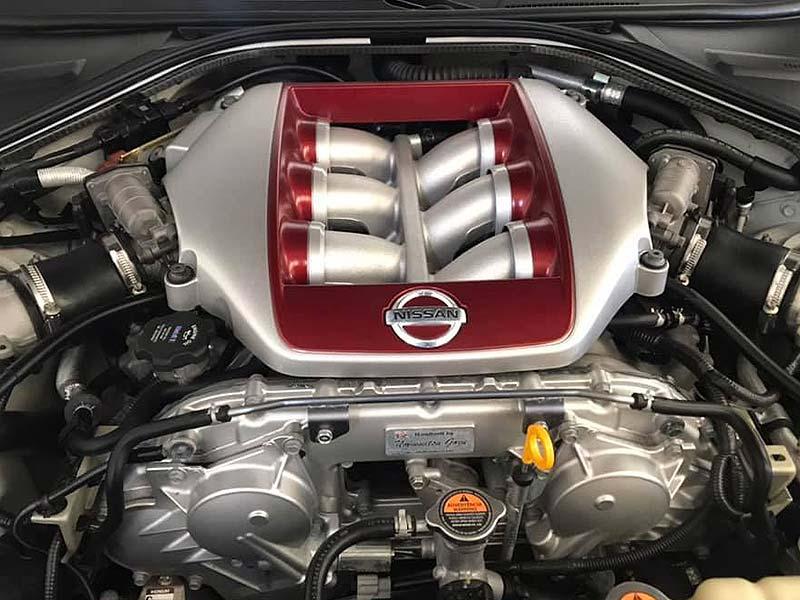 NISSAN GT-R Black Edition, carsmultimarca, vista detalle de motor