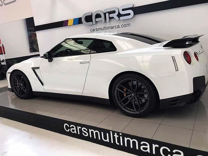 NISSAN GT-R Black Edition, carsmultimarca, vista lateral