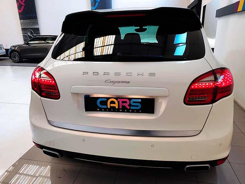 Porsche Cayenne V6, carsmultimarca, vista posterior.