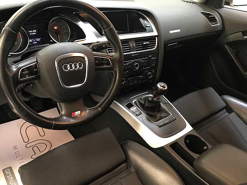 carsmultimarca.com, Audi s5 Quattro 4.2fsi, vista interior.