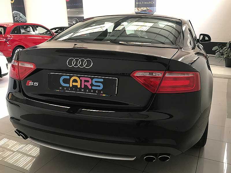 carsmultimarca.com, Audi s5 Quattro 4.2fsi, vista posterior.