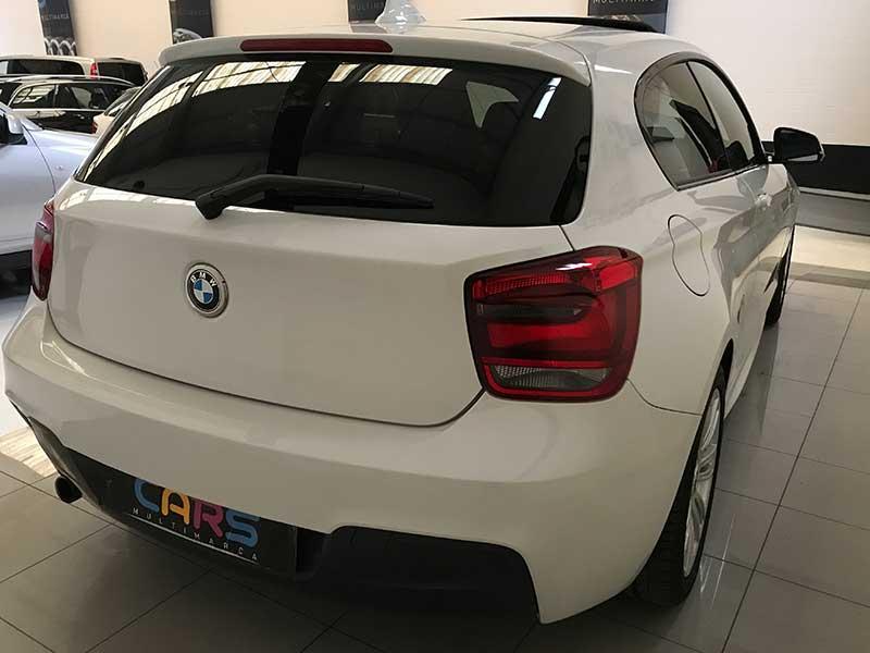 BMW Serie1 M Sport Edition, carsmultimarca.com, vista POSTERIOR.