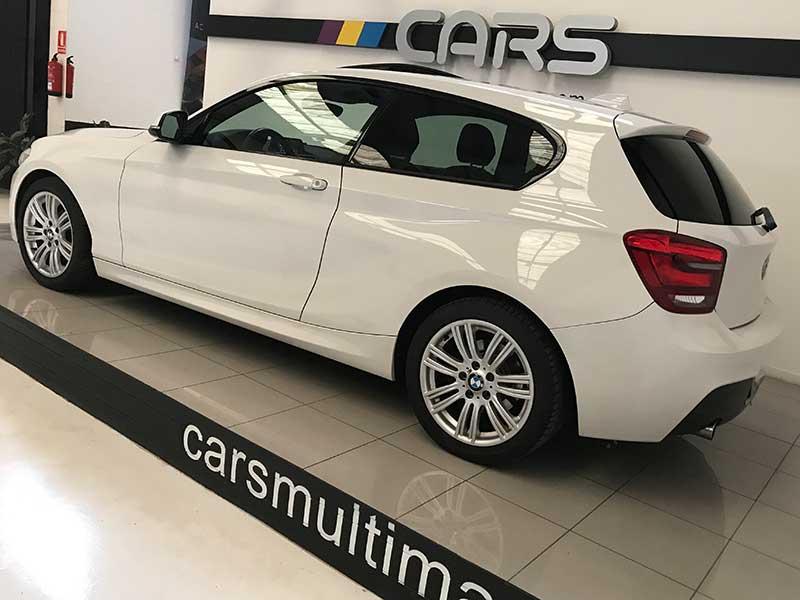 BMW Serie1 M Sport Edition, carsmultimarca.com, vista lateral.