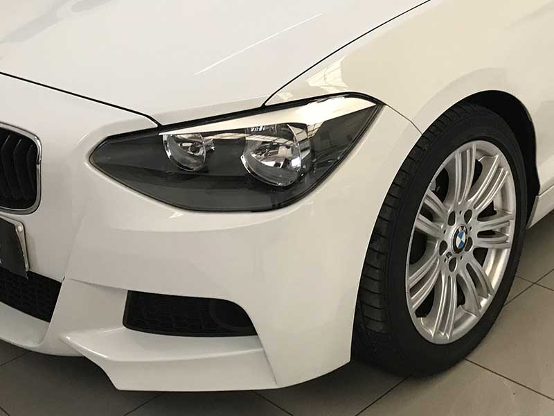 BMW Serie1 M Sport Edition, carsmultimarca.com, vista faro.