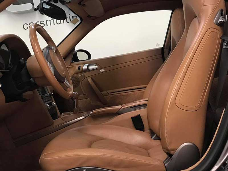 PORSCHE 911 Carrera S, carsmultimarca.com, vista de asientos.