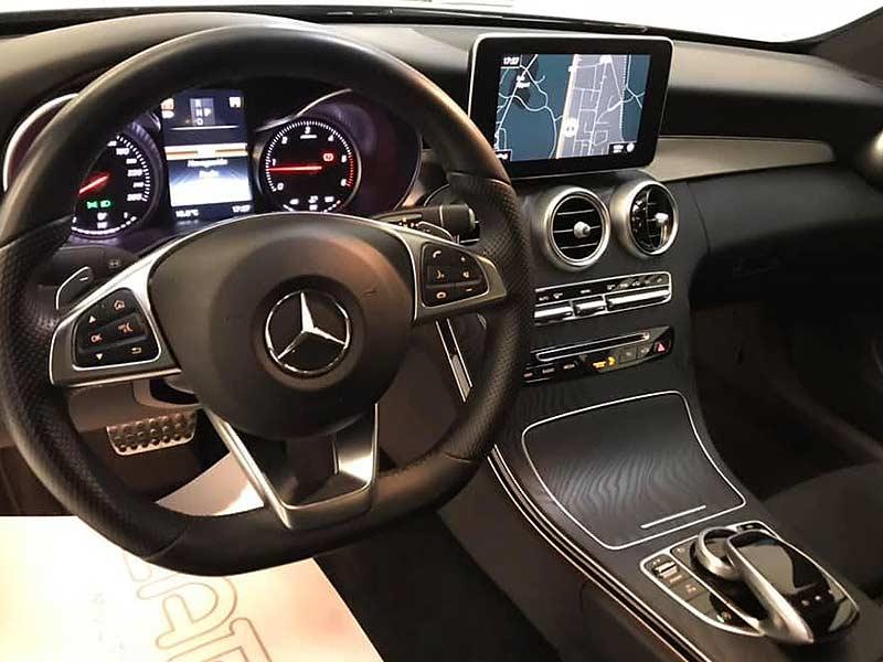 MERCEDES BENZ C220cdi Coupe AMG, carsmultimarca.com, vista interior.