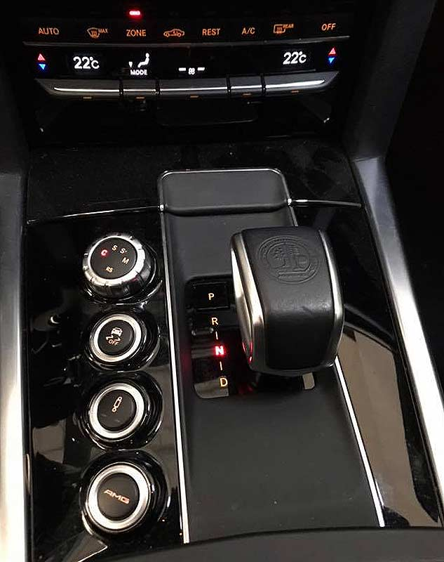 MERCEDES BENZ E63 AMG, carsmultimarca.com, vista de controles