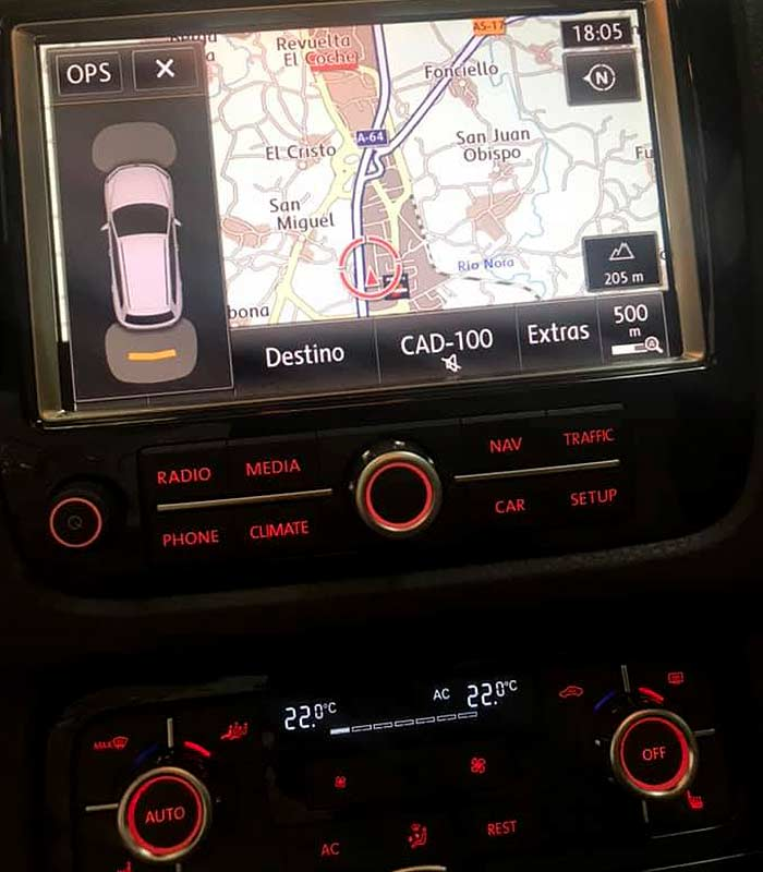 VOLKSWAGEN Touareg V6, carsmultimarca.com, vista de navegador