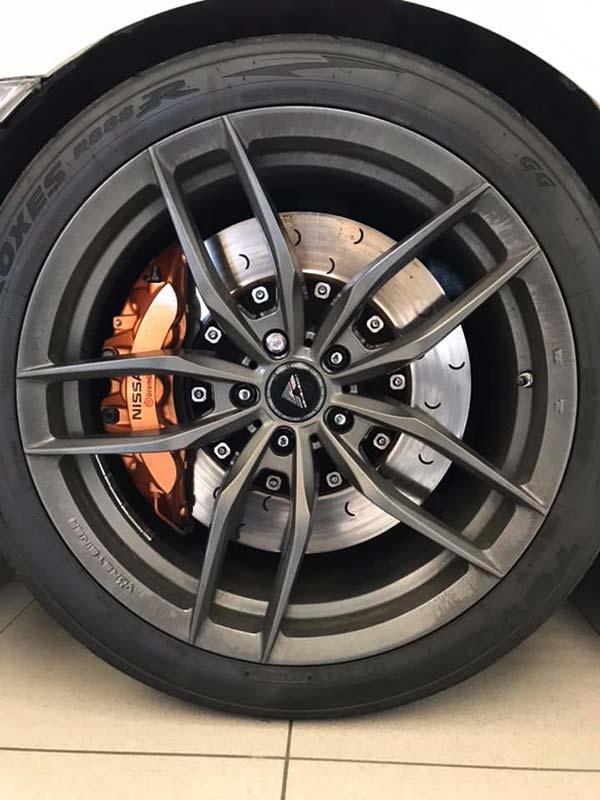 NISSAN GT-R Black Edition, carsmultimarca, vista detalle llantas