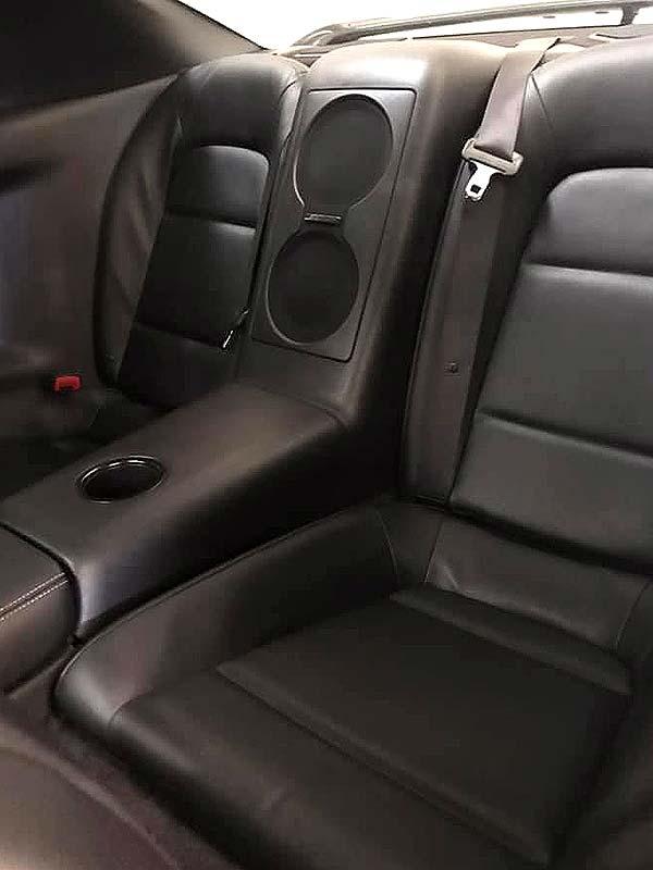 NISSAN GT-R Black Edition, carsmultimarca, vista asientos posteriores
