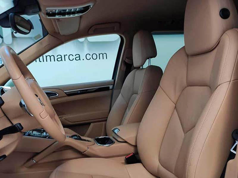 Porsche Cayenne V6, carsmultimarca, vista de asientos.