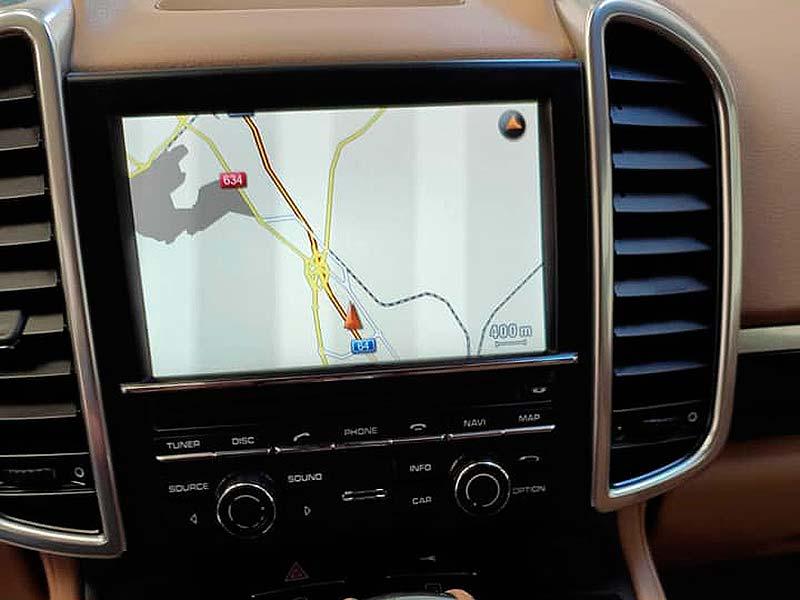 Porsche Cayenne V6, carsmultimarca, vista del navegador.