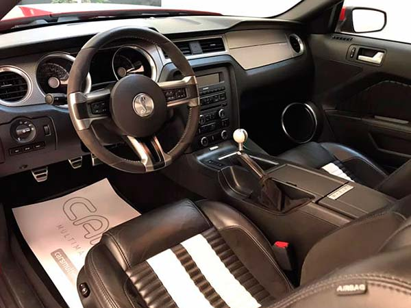Ford Mustang Shelby, carsmultimarca, vista interior