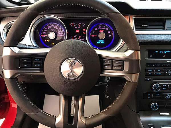 Ford Mustang Shelby, carsmultimarca, vista de volante
