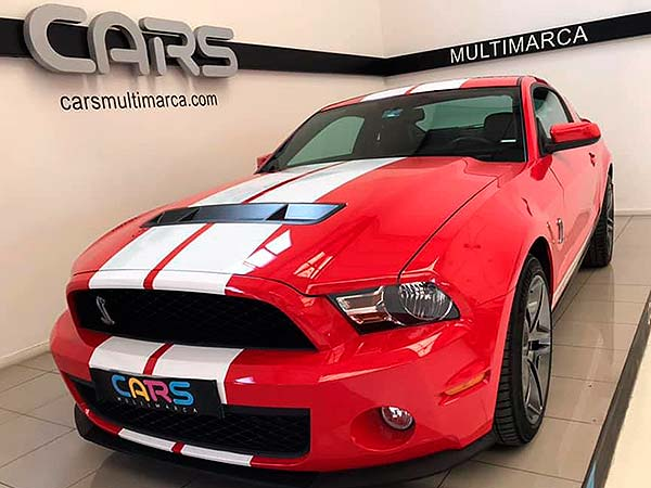 Ford Mustang Shelby, carsmultimarca, vista frontal