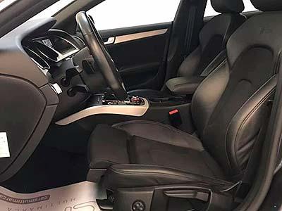 A5 carsmultimarca, vista asientos piel