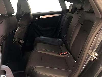 A5 carsmultimarca, vista asientos posteriores
