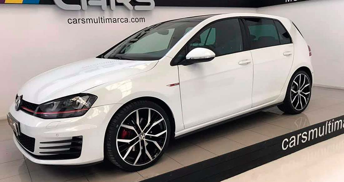 VOLKSWAGEN Golf Gti, carsmultimarca, vista frontal