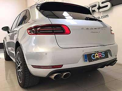 PORSCHE Macan S diesel, carsmultimarca, vista posterior