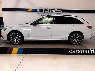 vista lateral del automóvil