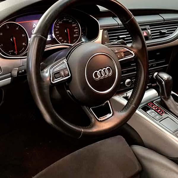 AUDI A7 Quattro, carsmultimarca, vista interior, detalle de mandos