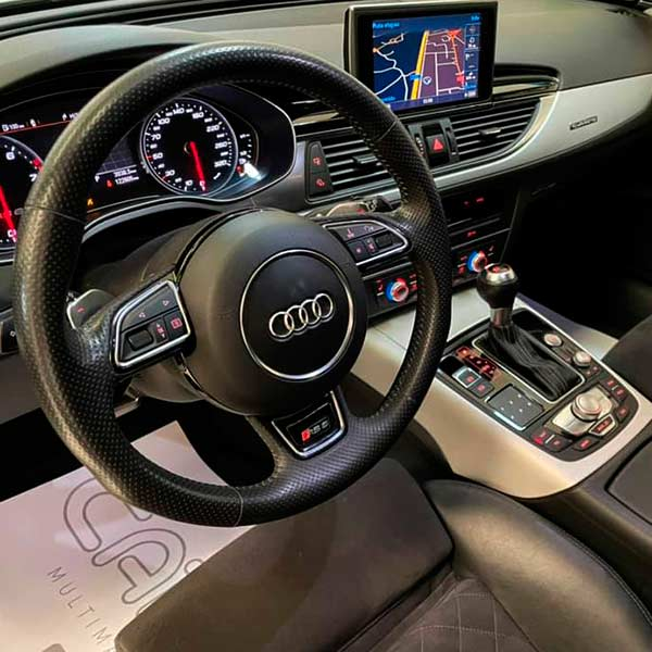 Audi RS6 4.0 TFSi 560 cv, carsmultimarca, vista de volante