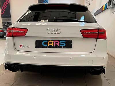 Audi RS6 4.0 TFSi 560 cv, carsmultimarca, vista posterior