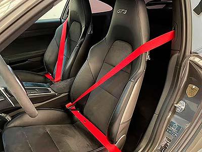 PORSCHE 911 Sport Chrono, carsmultimarca, vista de cinturones de seguridad