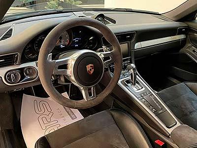 PORSCHE 911 Sport Chrono, carsmultimarca, vista volante multifunción.