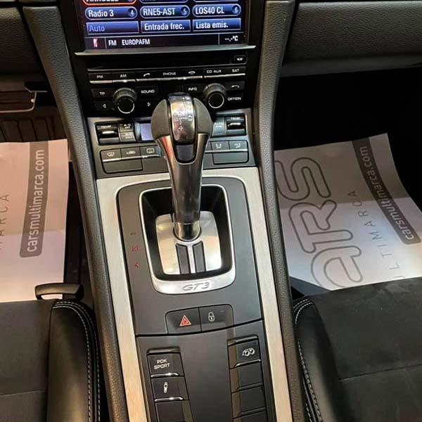 PORSCHE 911 Sport Chrono, carsmultimarca, vista cambio velocidades.