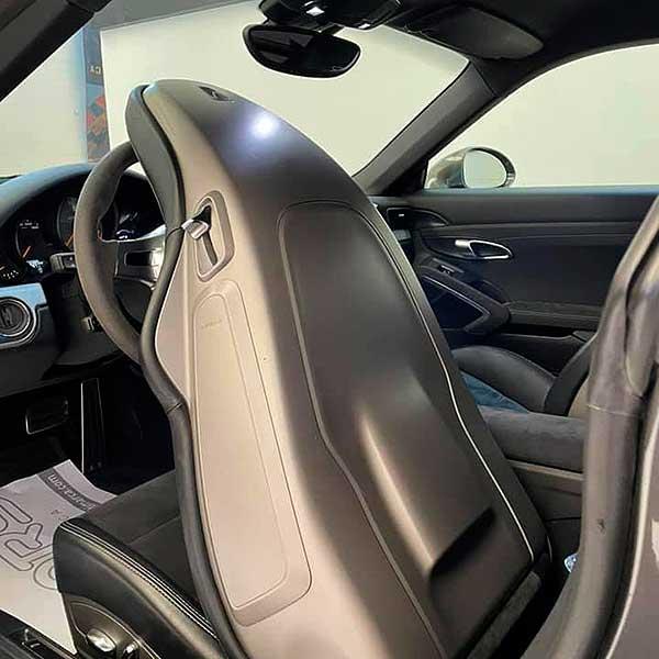 PORSCHE 911 Sport Chrono, carsmultimarca, vista asiento abatible.