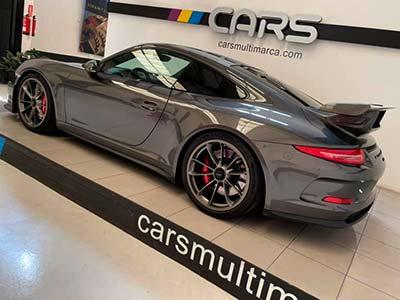 vista lteral Porsche