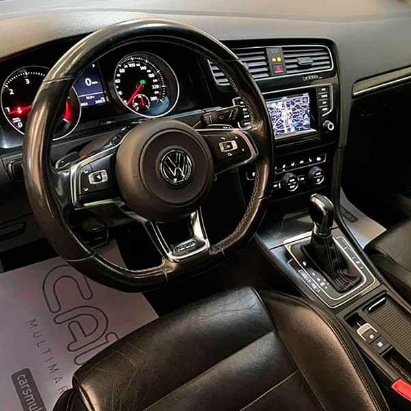 VOLKSWAGEN Golf GTD, carsmultimarca, vista interior