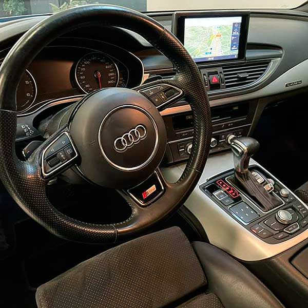 AUDI A7 Quattro, carsmultimarca, vista interior