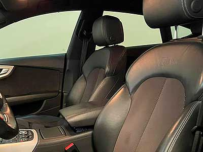 AUDI A7 Quattro, carsmultimarca, vista de asientos