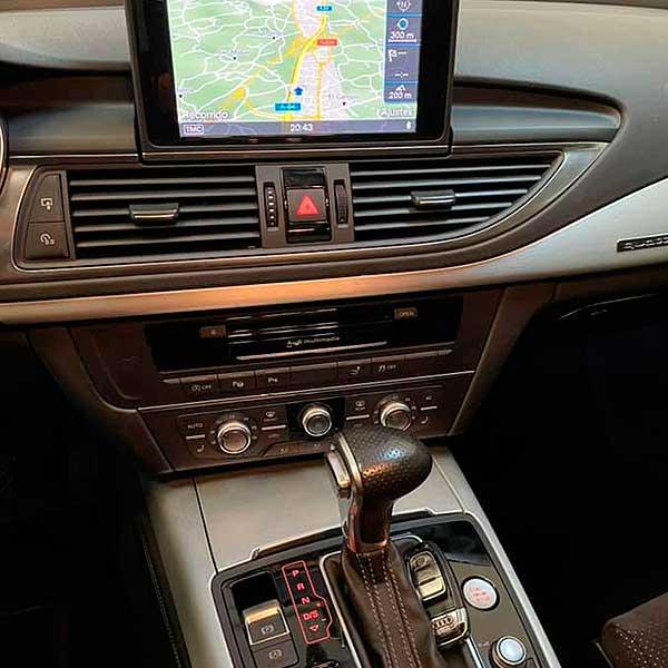 AUDI A7 Quattro, carsmultimarca, vista controles