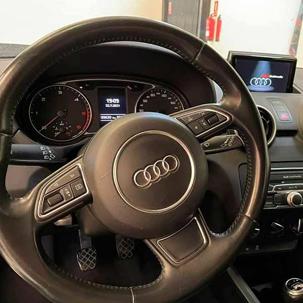 AUDI A1 TDI, carsmultimarca, vista del volante