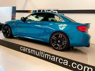 BMW M2 370 cv, carsmultimarca, vista lateral
