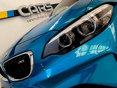 BMW M2 370 cv, carsmultimarca, vista detalle de faros