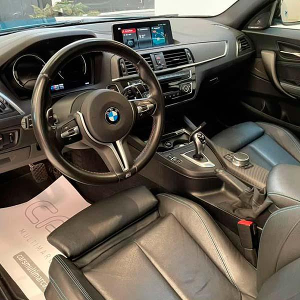 BMW M2 370 cv, carsmultimarca, vista interior